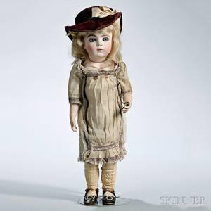 Bru Jne Bisque Head Doll