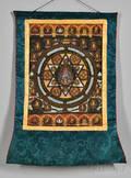 Thangka of Vishvarupa Mandala