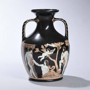 Samuel Alcock Portlandtype Vase