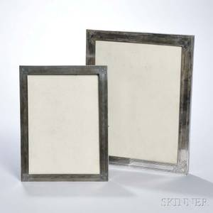 Two Tiffany  Co Sterling Silver Picture Frames