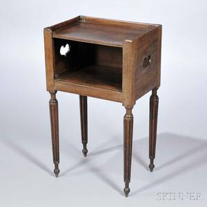 French Provincial Fruitwood Side Table