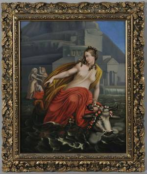 Continental School 18th19th Century Europa and the Bull in a Neoclassical Setting