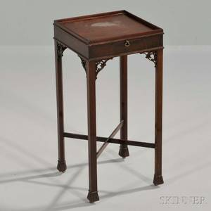 George III Mahogany Kettle Stand