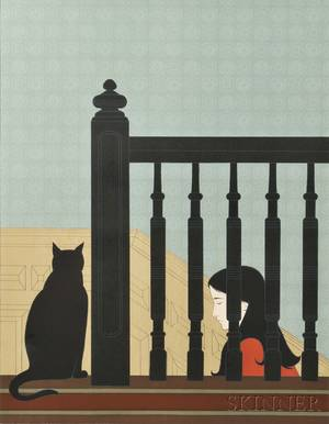 Will Barnet American 19112012 The Bannister