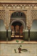 Fernando Liger Hidalgo Spanish 18801945 The Alhambra