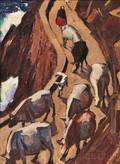 James Fitzgerald American 18991971 The Cows of Kerry