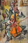 Gen Paul French 18951975 The Cellist