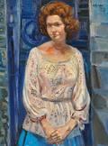 Costantino Spada Italian 19221975 Portrait of a Woman Gelsy Adam