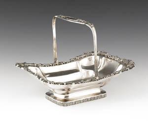 Philadelphia silver basket ca 1815