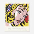 Lawrence Wolfson and Roy Lichtenstein   Poster for the Parish Art Museum