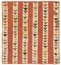 Lancaster County flying geese doll quilt 19th c