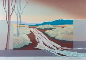 Alvena McCormick Serenity Flow Lithograph