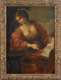 Old Masters oil on canvas portrait of a woman 17th c
