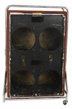 FRANK ZAPPA SPEAKER CABINET WITH VOX STAND