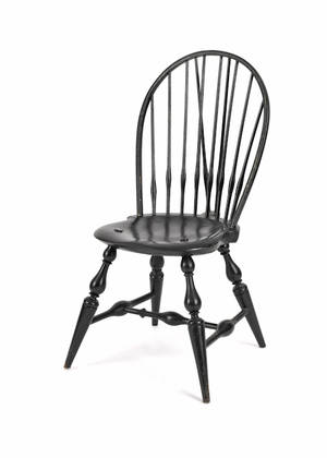 Wallace Nutting braceback Windsor chair