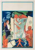 Stock Posters Two Vintage Magicians Posters