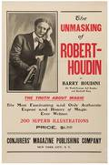 Houdini Harry Ehrich Weiss The Unmasking of