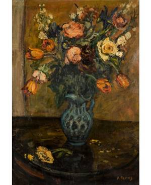 ARBIT BLATAS LITHUANIAN 19081999 Still Life with Tulips