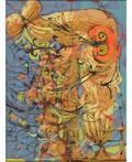 DIMITRI PETROV RUSSIANAMERICAN 19191986 Abstract Portrait