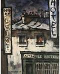 OSCAR RABIN RUSSIAN b 1928 Hotels on rue dHauteville