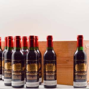 Chateau Palmer 1989 24 demi bottles owc