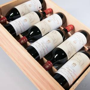 Chateau Mouton Rothschild 1993 12 bottles owc