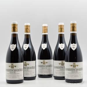 Armand Rousseau Chambertin Clos de Beze 2000 5 bottles