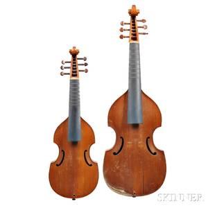 Two Violas da Gamba Treble and Alto c 1960