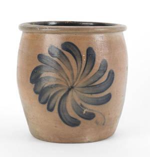 Pennsylvania 1 12 gallon stoneware crock 19th c