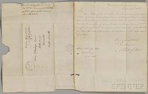 Gallatin Albert 17611849 Six Signed Letters 18081810