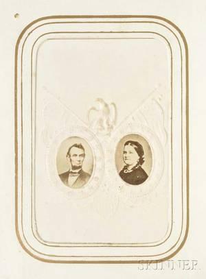 Photograph Album 1860s Tintypes CartedeVisites Abraham Lincoln