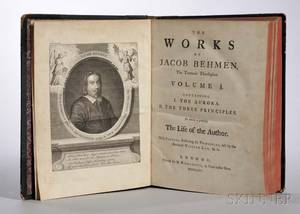 Bhme Jakob 15751624 The Works of the Teutonic Theosopher