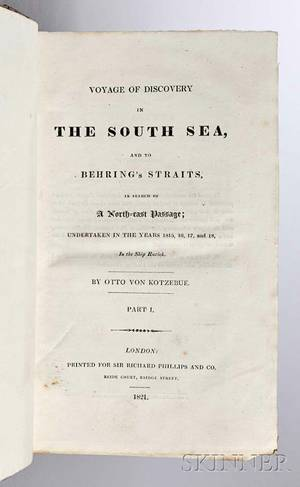 Kotzebue Otto von 17871846 Voyage of Discovery in the South Sea and to Behrings Straits in Search of a Northeast Passage