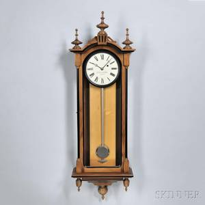 E Howard  Co No 59 Reissue Regulator Wall Clock