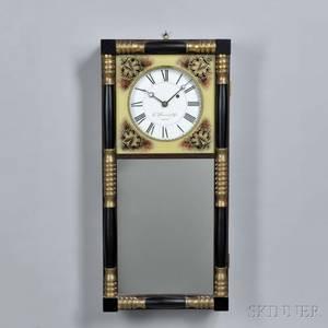 E Howard  Co New Hampshire Mirror Clock