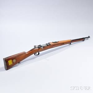 Swedish Model 1896 Mauser Boltaction Rifle