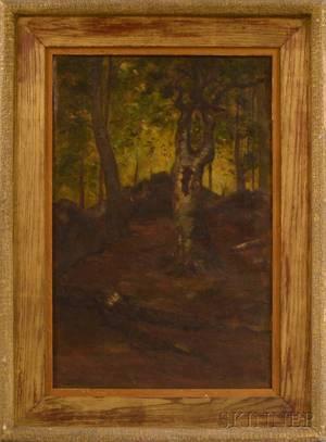 After William Morris Hunt American 18241879 A Naushon Beech