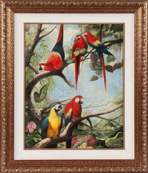 Ray Jacob American 20th Century Parrots