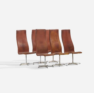 Arne Jacobsen   Oxford chairs model 7403 set of six