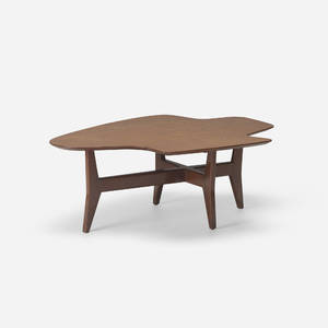 Jens Risom   rare Freeshape coffee table model T362