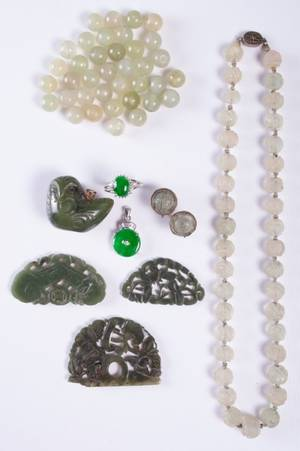 Chinese Jade and Hardstone Pieces