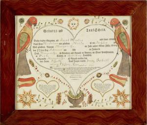 Friederich Krebs Southeastern Pennsylvania active 17841812