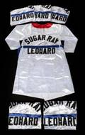 SUGAR RAY LEONARD SIGNED BOXING ROBES GROUP