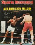 MUHAMMAD ALI SIGNED SPORTS ILLUSTRATED MARCH 1 1976 ISSUE
