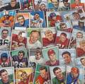 1952 BOWMAN LARGE FOOTBALL CARDS GROUP