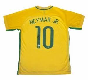 hot sale online db450 3d5fe Realized price for NEYMAR SIGNED BRAZIL NATIONAL FOOTBALL