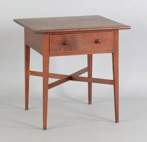 Pennsylvania walnut tavern table early 19th c