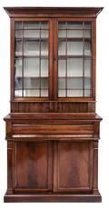 A Regency Style Mahogany SecretaryBookcase
