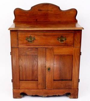 19th Century Country Pine Washstand