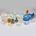 Contemporary glass group